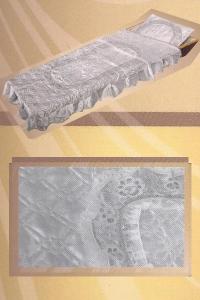 "Комплект (подушка + покрывало) ""элегия"" серебро"